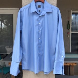 Calvin Klein long sleeve dress shirt.  Size XL